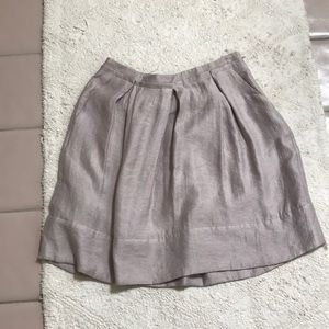 BCBG pink rayon skirt